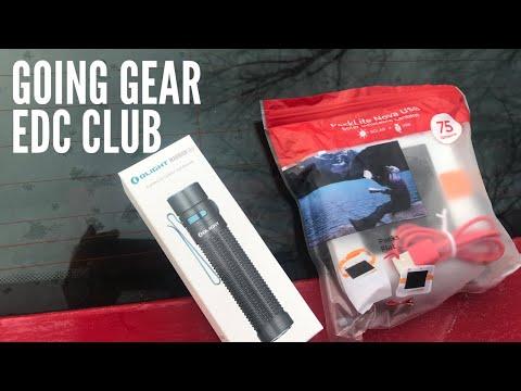Going Gear EDC Club: Olight Warrior Mini + Inflatable Lantern with Solar Power