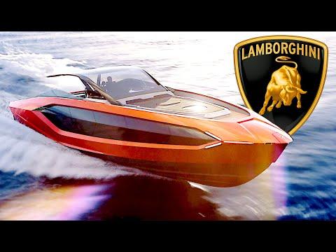 2021 Lamborghini Yacht inspired by the Lamborghini Sia?n ? 'Tecnomar for Lamborghini 63'