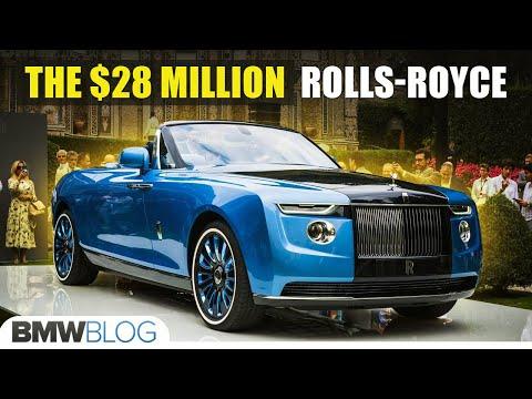 Rolls-Royce Boat Tail - The $28 Million Dollars Car