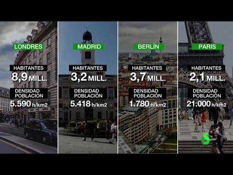 Diferencias entre Madrid, Berlín, Nueva York, Londres y París en la lucha contra el coronavirus