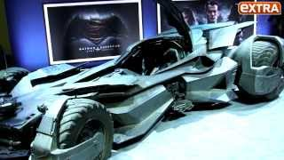 Warner Bros. Unveils Batmobile from 'Batman v Superman: Dawn of Justice'