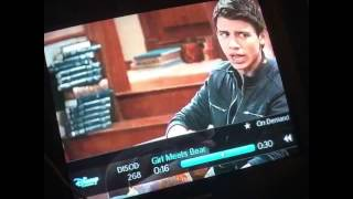 Girl meets world - Girl meets bear joshaya scene