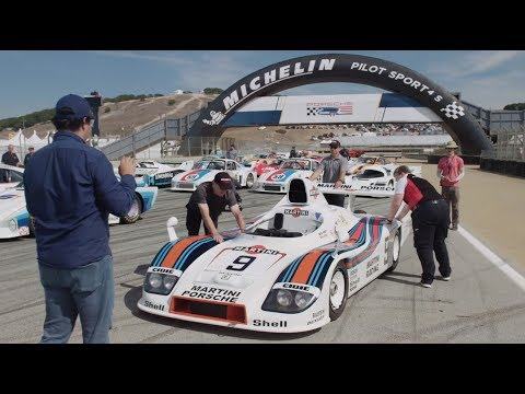 Rennsport Reunion VI Family Photo - Behind the Scenes