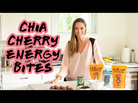Chia Cherry Energy Bites Recipe | Nuts.com