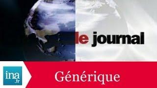 Générique 20h France 2 1992 - Archive INA