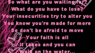 Walk on the Water - Britt Nicole - Lyrics