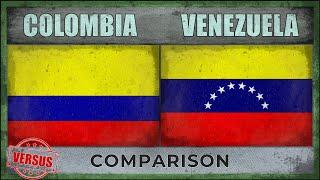 COLOMBIA vs VENEZUELA | Military Power Comparison [2018]