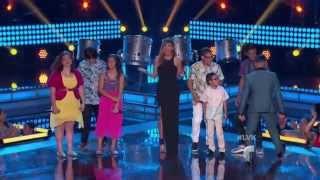 La Voz Kids | Los seis finalistas cantan 'Que Suenen los Tambores' en La Voz Kids