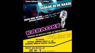 Euforia Karaoke Sabado 26 Marzo