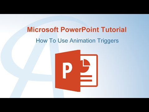 How To Use Animation Triggers In PowerPoint