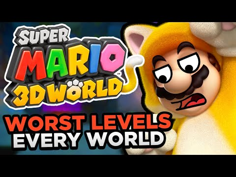 The WORST Levels in EVERY World in Super Mario 3D World + Bowser s Fury