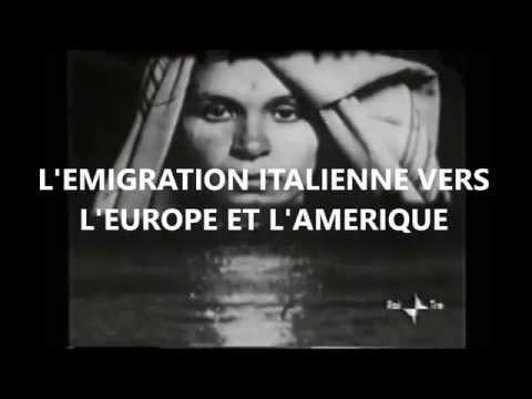 L'EMIGRATION ITALIENNE VERS L'AMERIQUE