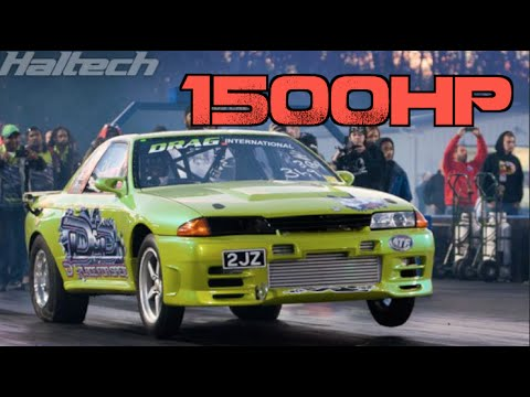 1500HP 7 Second Skyline R32 7.3@188mph