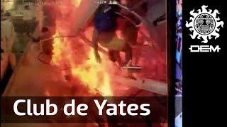 Así fue la explosión en Club de Yates de Acapulco / OEM