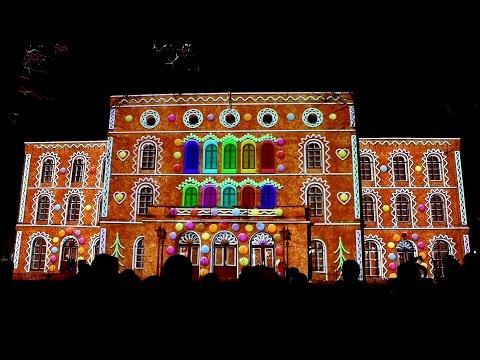STORM - fasadshow på Örebro Teater