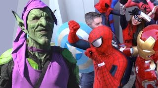 SPIDER-MAN vs GREEN GOBLIN Music Industry Beef