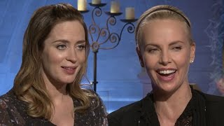 The Huntsman Cast Teach Evil Laugh & Sing Rihanna's WORK