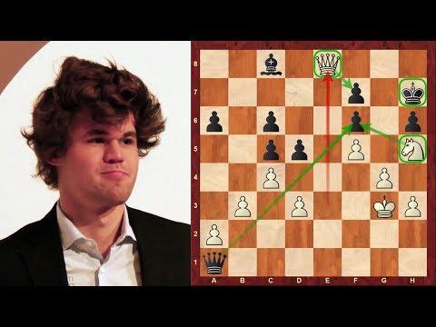 Amazing chess game: Magnus Carlsen vs Ian Nepomniachtchi : World Rapid (2017) : Zukertort Opening