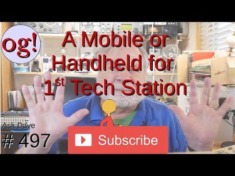 A Mobile or Handheld for 1st Tech Station (#497)