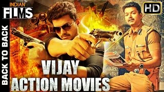 Vijay Full Hindi Dubbed Movies | Back to Back Hindi Action Movies | South Indian Dubbed Movies width=