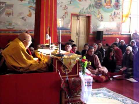 Cerimonia Budista com Tenga Rinpoche – Nepal