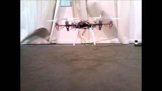 Hexacóptero - Teste de Sustentação Aerodinâmica (Hexacopter - Aerodynamic Lift Test)