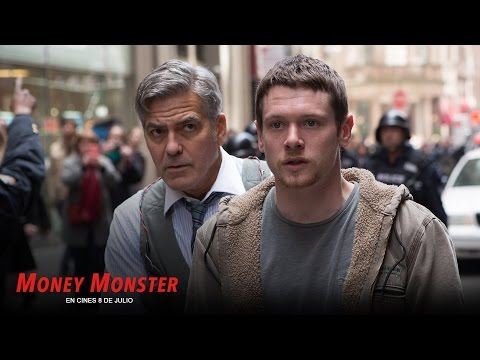 MONEY MONSTER. Ellos controlan la información. En cines 8 de julio.