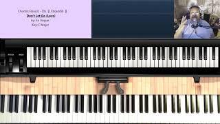 Don't Let Go (Love) (by En Vogue) - Piano Tutorial