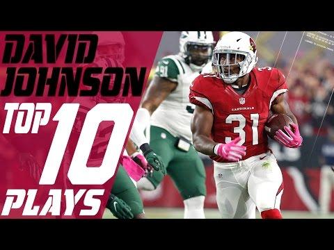 David Johnson's Top 10 Plays of the 2016 Season | NFL Highlights