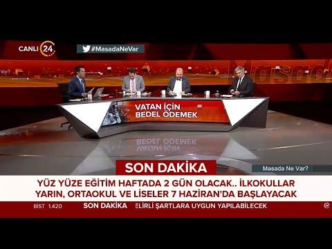 """İbrahim Güneş ile """"Masada Ne Var?"""" / Vatan İçin Bedel Ödemek – 31 05 2021"""