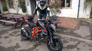 Girl vs. KTM Super Duke R | Joanna F. Benz