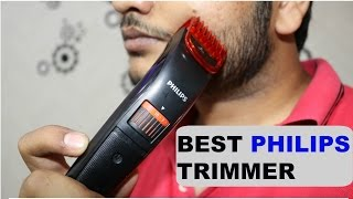 Philips Cordless Trimmer | Pro Skin QT4011/15 Advanced Trimmer  [ हिन्दी में ] width=