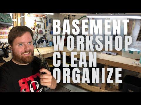 Basement Workshop Organization (or Lack Thereof)