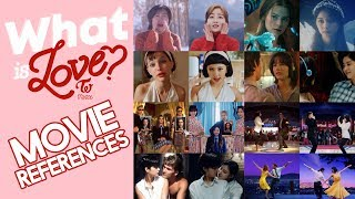 TWICE 'What is Love?' MV Movie References Side-by-side Comparison