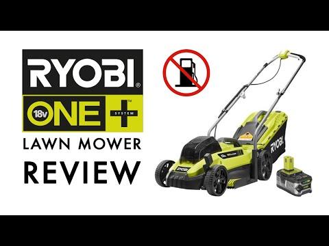 RYOBI 18V Cordless Lawn Mower Review