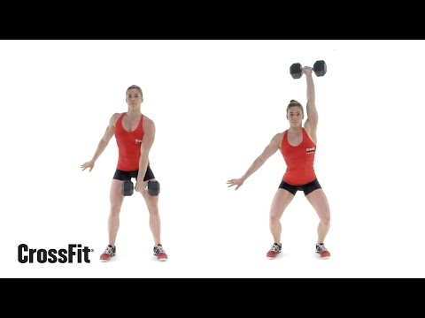 The Dumbbell Hang Power Snatch