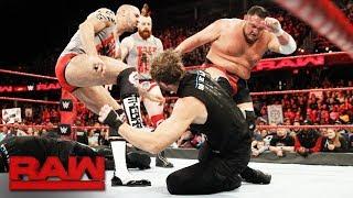 The Shield brawl with Samoa Joe, Sheamus and Cesaro: Raw, Dec. 11, 2017 width=