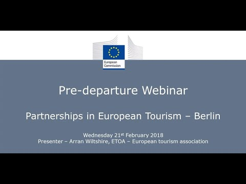 Partnerships in European Tourism - Berlin   Pre-departure Webinar