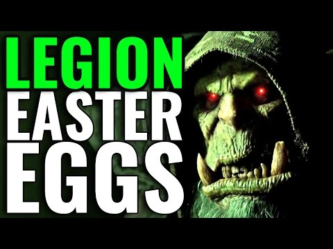 WoW Legion - Easter Eggs