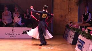 Corentin Normand - Laura Lozingue FRA, Slow Foxtrot, German Open Championships 2019