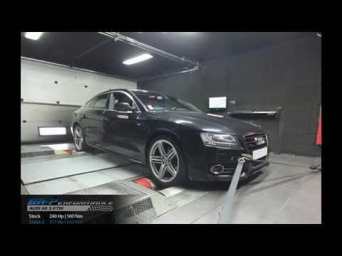 Reprogrammation Moteur Audi A5 3.0 TDI CR 240hp @ 316hp (Stage 2) par BR-Performance