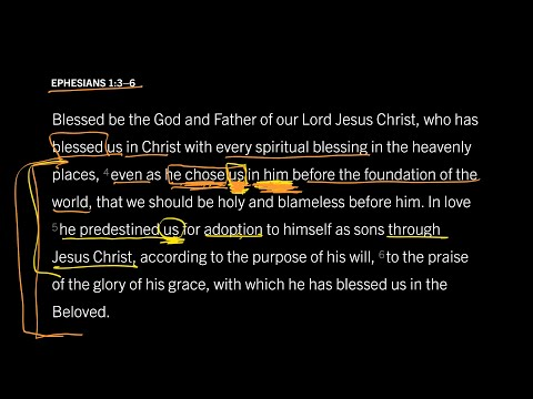 Ephesians 1:3–6 // Part 5 // Did God Really Choose Individuals to Be Saved?