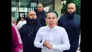 6ix9ine singing Stoopid