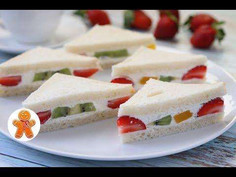 Японские Сэндвичи с Фруктами ✧ Japanese Fruit Sandwiches