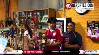 Sharks Campeones de los Miércoles en Chitown Futbol
