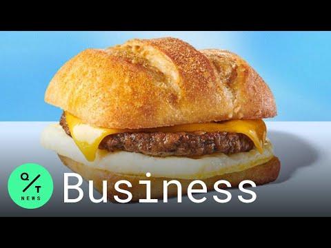 Starbucks, Breakfast sandwich, Plant-based diet, Impossible Foods, Beyond Meat