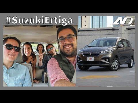 El equipo de AutoDinámico pone a prueba #SuzukiErtiga a la hora de la comida - Vlog (AD)