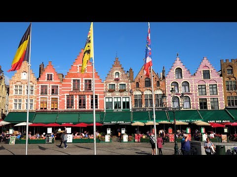 Historic Bruges, Belgium in 4K Ultra HD