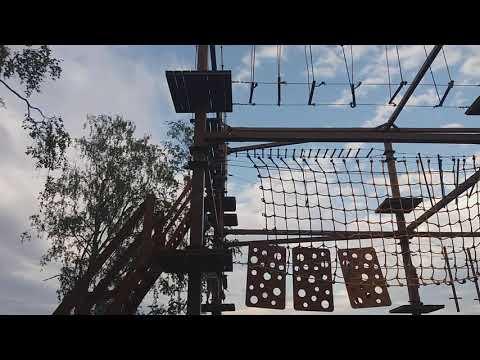 Веревочный парк в Сыктывкаре
