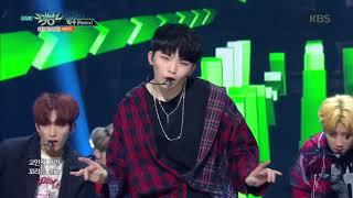뮤직뱅크 Music Bank - 박수(Remix) - 세븐틴 (CLAP(Remix) - Seventeen).20171208 width=